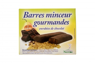 FENIOUX MULTI-SPORTS Boite de 7 Barres Protéinées Chocolat-Poire-Céréales