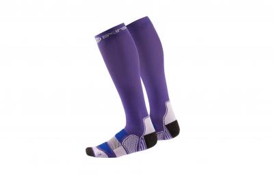SKINS Chaussettes de compression actives Essentials Femme Violet