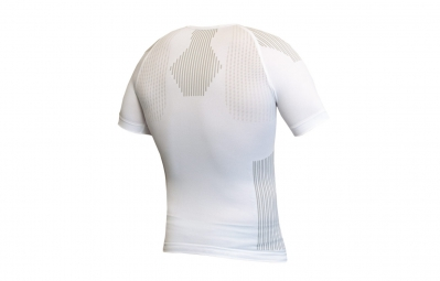 Maillot manches courtes Biotex Light Touch Seamless Blanc