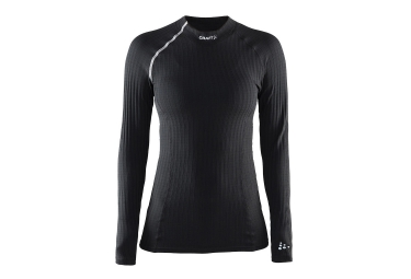 CRAFT Maillot Manches Longues BE ACTIVE EXTREME Noir Blanc Femme