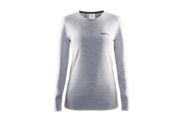 CRAFT Maillot Manches Longues BE ACTIVE COMFORT Gris Femme