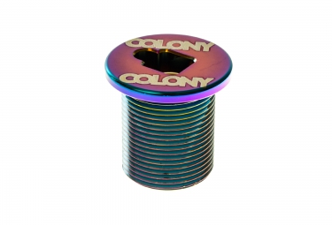 COLONY Ecrou de Fourche M24 x 1.5 Rainbow
