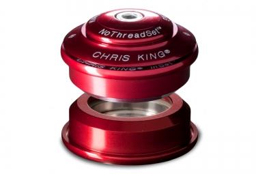 CHRIS KING Jeu de Direction InSet 1 Semi Intégré 1''1/8 Rouge