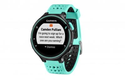 Montre GPS Garmin Forerunner 235 Noir / Bleu