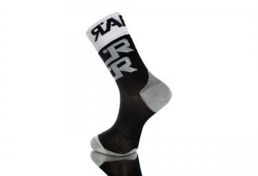 Paire de chaussette RAFA´L Carbone Attack Noir Blanc