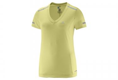 SALOMON Tee-Shirt Femme PARK Jaune