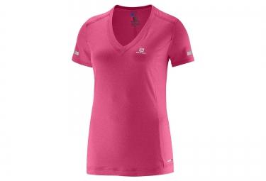 SALOMON Tee-Shirt Femme PARK Rose