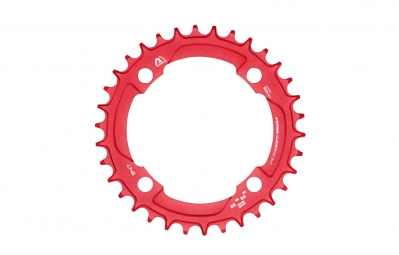 E-Thirteen Plateau Guidering M 104mm Rouge