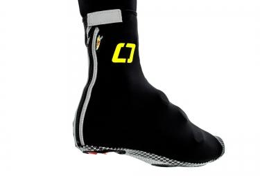 ISANO Sur-chaussure Hiver IS 8.0 Noir/Jaune Fluo