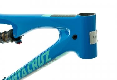 Cadre SANTA CRUZ 5010 2 CC Carbone 27.5´´ Fox Float Factory Evol 130mm Bleu Mint