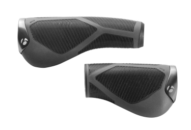 BONTRAGER Paire de Grips SATELLITE ELITE 90/130mm Noir Gris