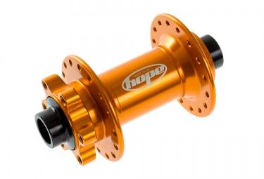 HOPE Moyeu Avant Pro 2 EVO 32H 110 15mm Boost Orange