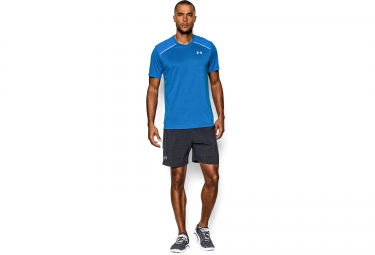 UNDER ARMOUR RUN Short Sleeves Jersey Blue
