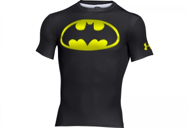 UNDER ARMOUR ALTER EGO Compression Short Sleeves Jersey Batman Black