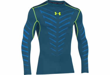 UNDER ARMOUR COLDGEAR INFRARED ARMOUR Long Sleeves Thermal Jersey Blue