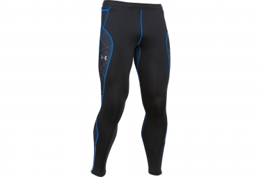 UNDER ARMOUR COLDGEAR INFRARED RUN Long Tight Black Blue