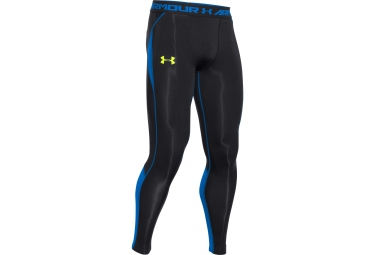 UNDER ARMOUR HEATGEAR ARMOURVENT Compression Leggings Black Blue