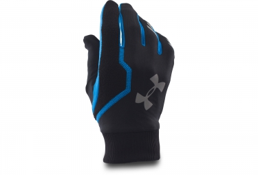 Under Armour Engage Run Gloves - Black Blue