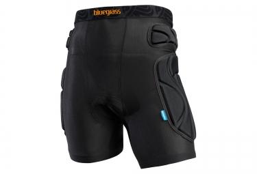 BLUEGRASS 2016 Short de Protection avec Peau WOLVERINE Noir