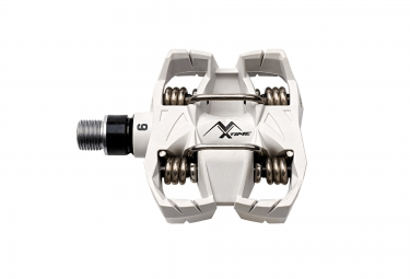 TIME Paire de Pédales MX6 Blanc