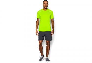 UNDER ARMOUR RUN Short Sleeves Jersey Yellow