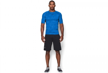 UNDER ARMOUR Short Sleeves Printed Jersey Blue