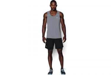 UNDER ARMOUR LAUNCH RUN Singlet Grey
