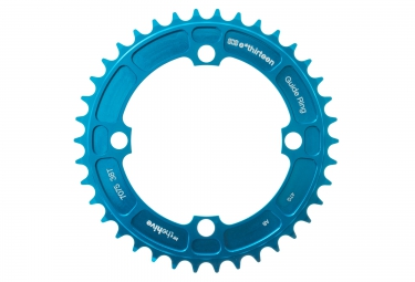 E-Thirteen Plateau DH 104mm 8-9-10 V Bleu