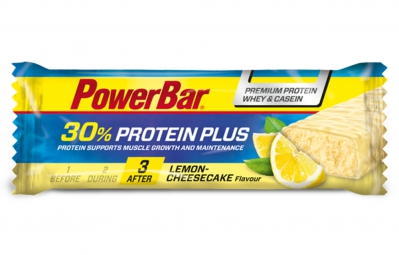 POWERBAR Barre PROTEIN PLUS 30% 55gr Citron Cheesecake