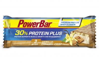 POWERBAR Barre PROTEIN PLUS 30% 55gr Vanille Caramel Crisp