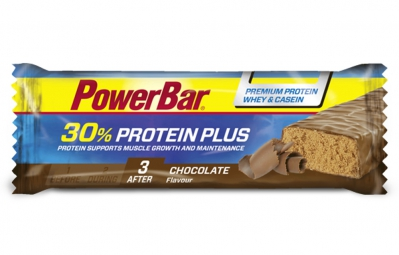 POWERBAR Barre PROTEIN PLUS 30% 55gr Chocolat