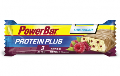 POWERBAR Barre PROTEIN PLUS LOW SUGAR 35gr Mélange de Baies