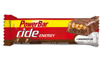 POWERBAR Barre RIDE ENERGY 55gr Chocolat Caramel