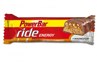 POWERBAR Barre RIDE ENERGY 55gr Cacahuète Caramel