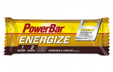 POWERBAR Barre ENERGIZE 55gr Cookies & Cream