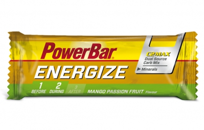 POWERBAR Barre ENERGIZE 55gr Mangue Fruit de la passion