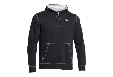 UNDER ARMOUR STORM RIVAL Hoodie Black White