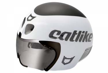 Casque de Triathlon Catlike RAPID TRI Blanc Noir