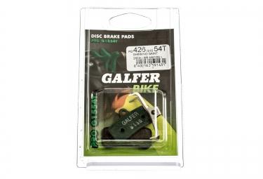 GALFER Plaquettes SHIMANO SAINT(M810) ZEE Organique PRO G1554T