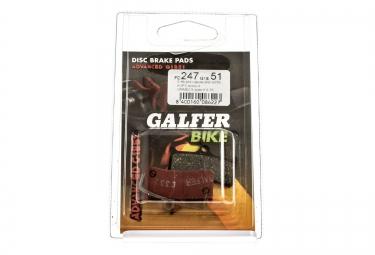 GALFER Plaquettes SHIMANO XT/GRIMECA Métallique ADVANCED G1851