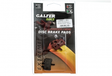 GALFER Plaquettes HAYES HFX-9/MAG/MX-1/PROMAX Métallique ADVANCED G1851