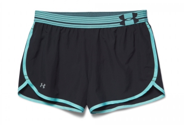 UNDER ARMOUR PERFECT PACE Short Black Blue Women