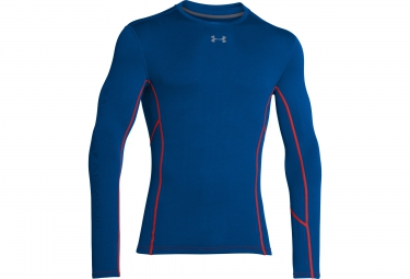 UNDER ARMOUR COLDGEAR ARMOUR STRETCH Long Sleeves Thermal Jersey Blue