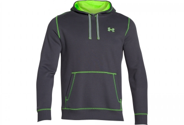 UNDER ARMOUR STORM RIVAL Hoodie Grey Green