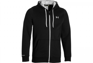 UNDER ARMOUR STORM RIVAL Hoodie Zip Black