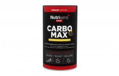 NUTRISENS Boisson énergétique CARBO MAX Pot de 750g Ananas Pêche