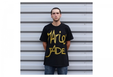 MARIE JADE T Shirt PROPAGANDE Noir Or