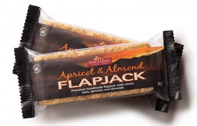 NUTRISENS Barre énergétique FLAPJACK 80g Abricot Amande