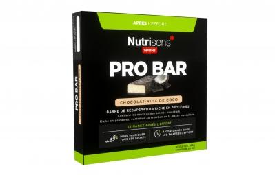 NUTRISENS Barre de récupération PRO BAR 3 X 35g Chocolat Noix de coco