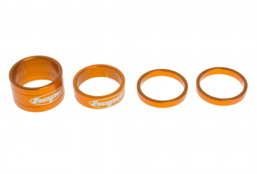HOPE Kit Entretoises de Direction SPACE DOCTOR 1''1/8 Alu Orange 5/10/20 mm